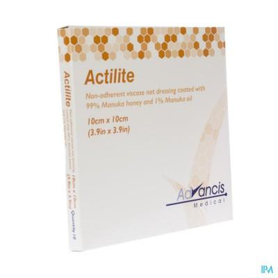 Actilite Verband Activon A/bact. N/adh 10x10cm 10