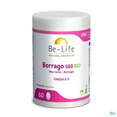 Borrago 500 Be Life Bio Caps 60