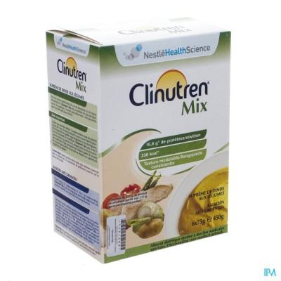 Clinutren Mix Kalkoen-groenten Nf Zakje 6x75g