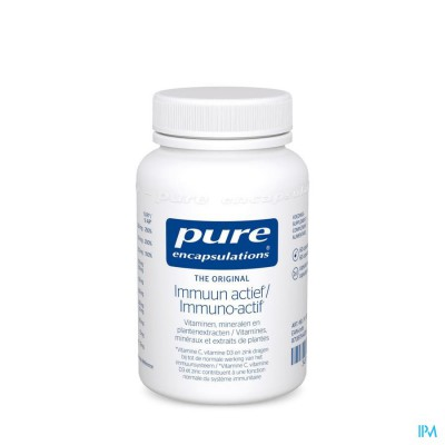 Pure Encapsulations Immuun Actief Caps 60