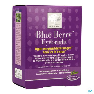 New Nordic Blue Berry Eyebright Comp 120