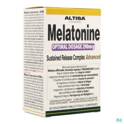 Altisa Melatonine Complex Tr Comp 60