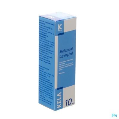 Meloxoral 0,5mg/ml Susp Ora Kat Fl 10ml