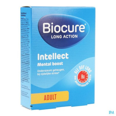 Biocure Mental Boost La Intellect Comp 30