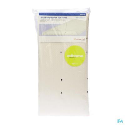 Douche-badmat Ctc A/slip Wit 76x35,5cm Homecraft