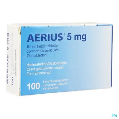 Aerius 5mg Pi Pharma Filmomh Tabl 100 X 5mg Pip