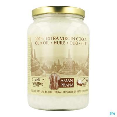Amanprana Extra Virgin Cocos Olie 1600ml