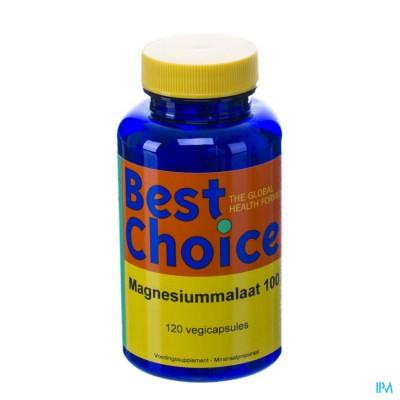 Best Choice Magnesiummalaat 500 V-caps 120 Nl