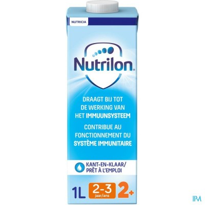 Nutrilon 2+ vloeibaar 1L peuter groeimelk