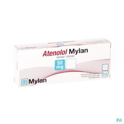 Atenolol Mylan Tabl 56x 50mg