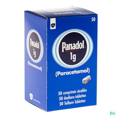 Panadol Pi Pharma Comp 50 X 1g Pip