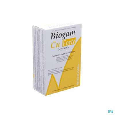 Biogam Cu Forte Drinkb. Amp 30x2ml