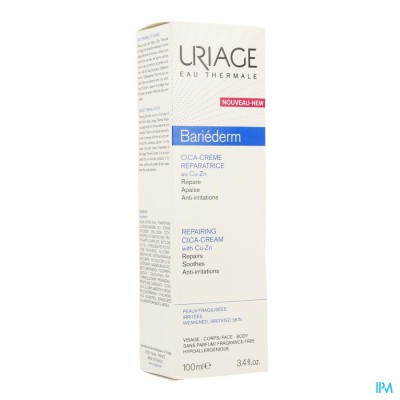 Uriage Bariederm Cica Creme Herstellend 40ml