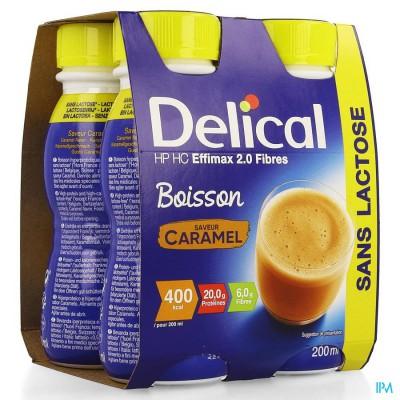 Delical Effimax 2.0 Caramel 4x200ml