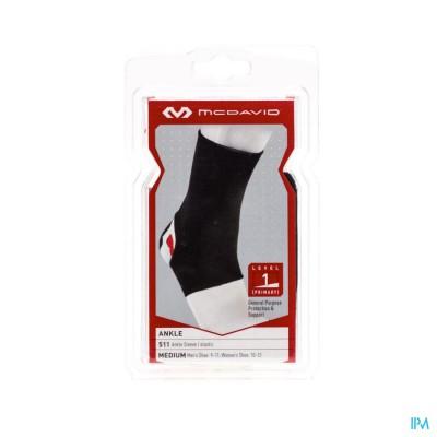 Mcdavid Ankle Brace Elastic Black M 511