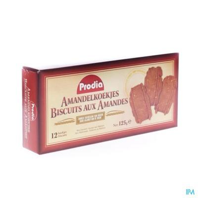 Prodia Amandelkoekjes+zoetstof Maltitol 125g 6008