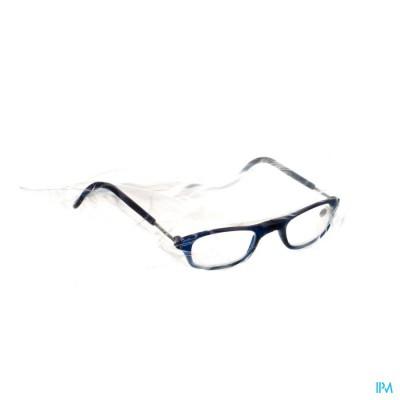 Clipyreader Bril +2.00 Blauw