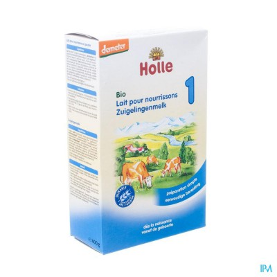Holle Zuigelingenmelk 1 Bio Pdr 400g Bh100
