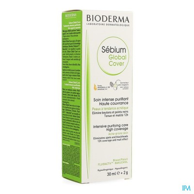 Bioderma Sebium Global Cover Creme 30ml