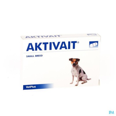 Aktivait Hond Small Breed Blister Caps 60