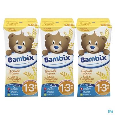 Bambix Groeimelk Granen-koekjesmeel 3x200ml