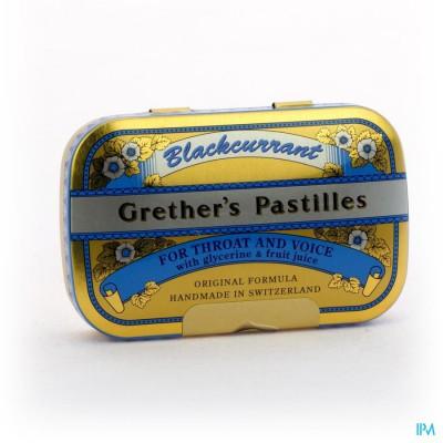 Blackcurrant Grethers Drag 60g