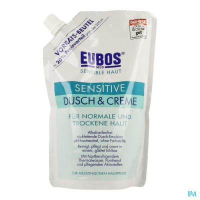 Eubos Creme Douche Sensitive Refill 400ml
