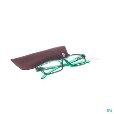 Pharmaglasses Leesbril Diop.+2.50 Green