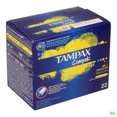 Tampax Compak Regular 22