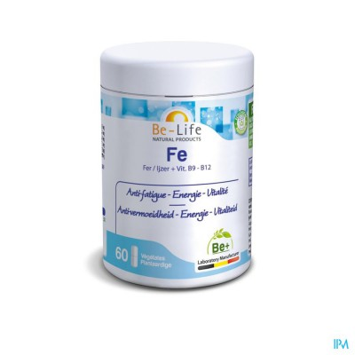 Fe Minerals Be Life Nf Gel 60x100mg