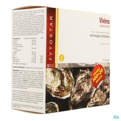 Fytostar Vivirex Oesterextract Maxi Caps 120
