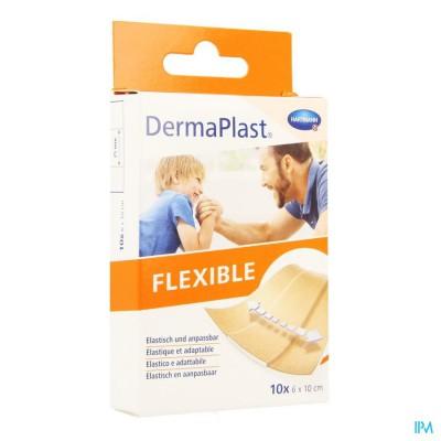 Dermaplast Flexible 6x10cm 10