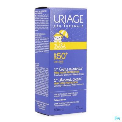 Uriage 1e Creme Mineraal Ip50+ 50ml