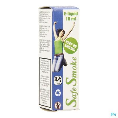 Safe Smoke E-liquid 9mg/ml Nicotine Red Fruit 10ml