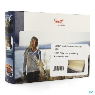 Sissel Overtrek Katoen Wit Voor Soft & Classic
