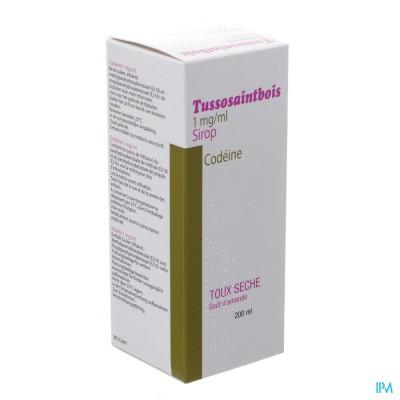 Tussosaintbois Codeine Siroop 200ml