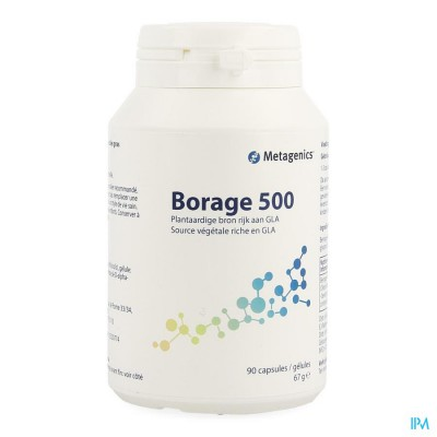 Borage 500 Pot Comp 90 19751 Metagenics