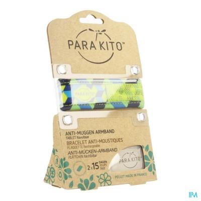 Para'kito Wristband Graffic Ethnic&geom Cubes