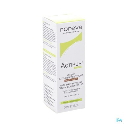 Actipur Cr A/imperfect. Teintee Doree Nf Tube 30ml