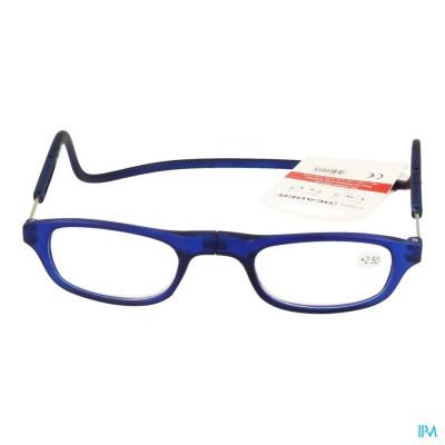 Clipyreader Bril +2.50 Blauw