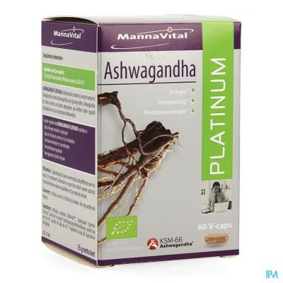 Mannavital Ashwagandha V-caps 60