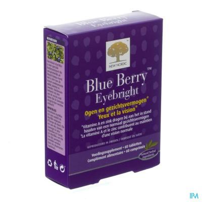 New Nordic Blue Berry Eyebright Comp 60
