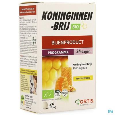 Ortis Koninginnebrij Bio Kauwtabletten 24
