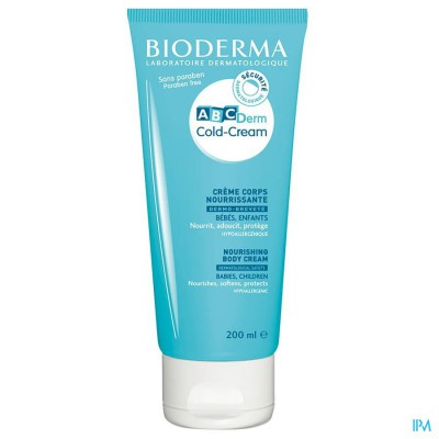 Bioderma Abc Derm Cold Cream Lichaam 200ml