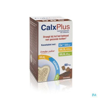 Calx-plus Chocolade Tabl 60