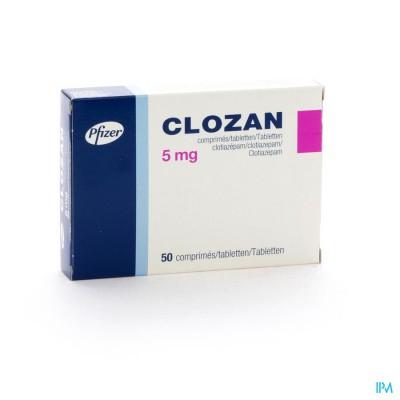Clozan Comp. 50 X 5mg