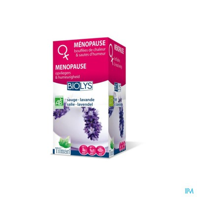 Biolys Salie-lavendel Bio Tea-bags 20