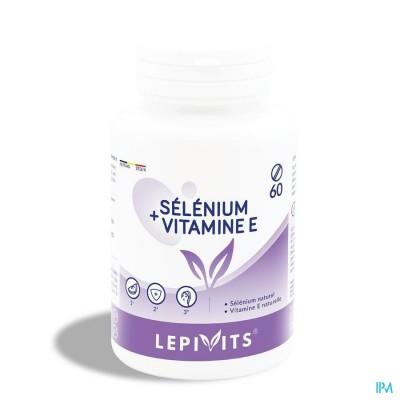 Lepivits Selenium + Vit E Tabl 60
