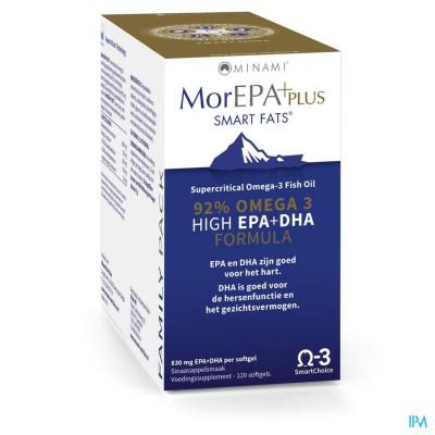 Minami Morepa Plus Family Pack Softgels 120