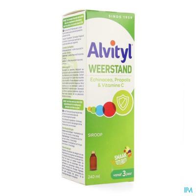 Alvityl Weerstand Siroop Fl 240ml